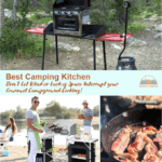 Best Camping Kitchen with a Windscreen | 4 Fantastic Choices in 2021