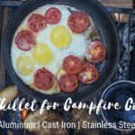 Best Open Fire Cooking Skillet | 3 Best for Campfire Cooking