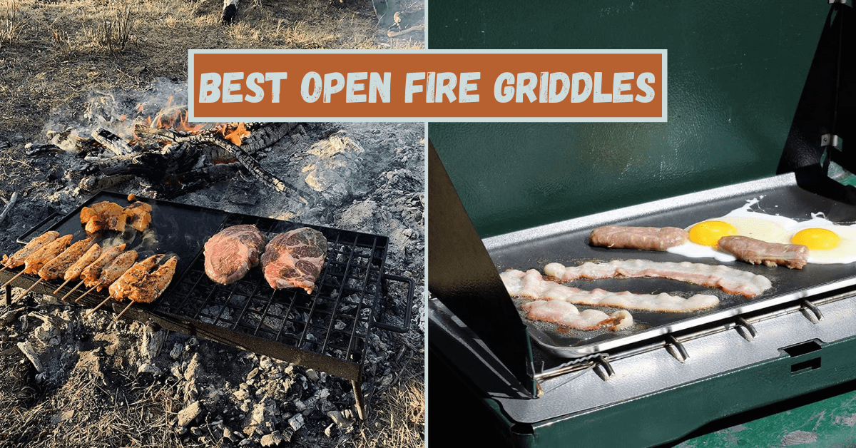 Open Fire Griddle